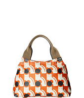 Orla Kiely - Poppy Cat Print Classic Zip Shoulder