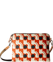 Orla Kiely - Poppy Cat Print Travel Pouch