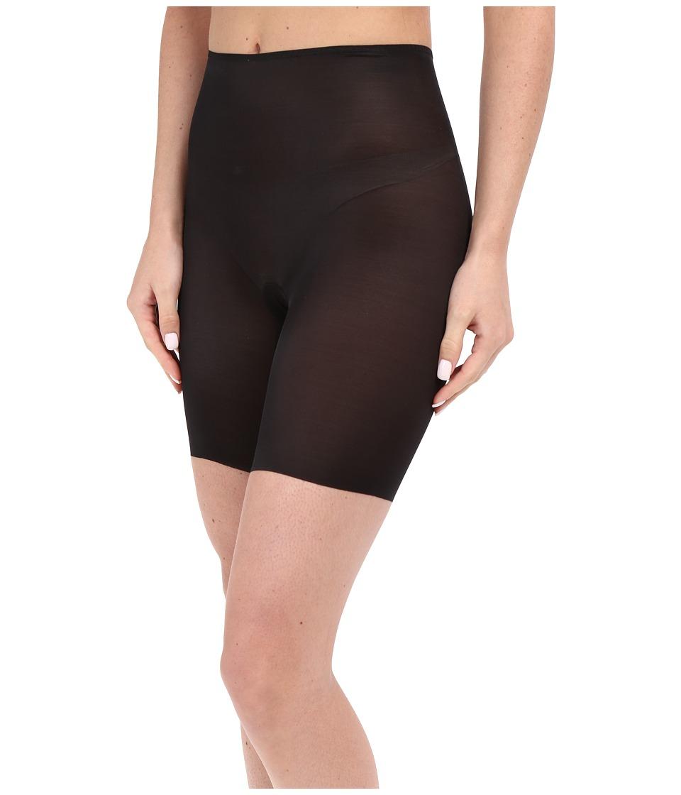 Spanx Skinny Britches Shorts Very Black Womens Underwear