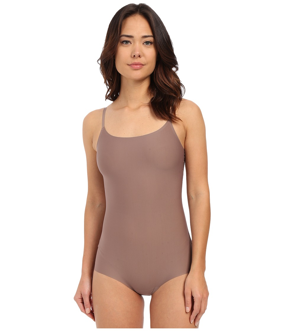 Spanx Thinstincts Bodysuit Mineral Taupe Womens Jumpsuit Rompers One Piece