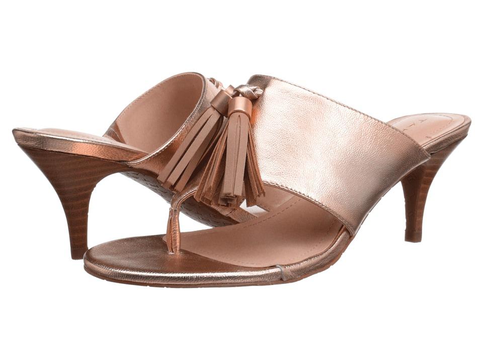 Tahari Rowan Rosegold/Dove Metallic Womens Sandals