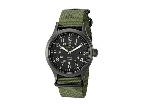 Timex Expedition Scout Nylon Slip-Thru Strap - Green/Black