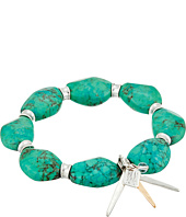 Robert Lee Morris - Turquoise Stone Stretch Bracelet