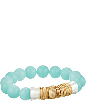Robert Lee Morris - Aqua Power Bead Stretch Bracelet