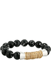 Robert Lee Morris - Black Bead Stretch Bracelet
