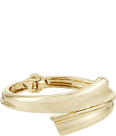 Robert Lee Morris - Gold Bypass Hinge Bangle Bracelet