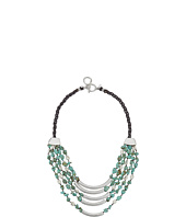 Robert Lee Morris - Turquoise Multi Row Necklace