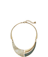 Robert Lee Morris - Patina and Horn Collar Necklace
