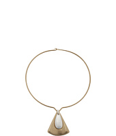 Robert Lee Morris - Round Wire Triangle Pendant Necklace