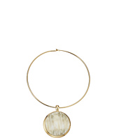 Robert Lee Morris - Horn Round Wire Pendant Necklace
