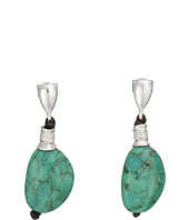 Robert Lee Morris - Turquoise Single Drop Earrings
