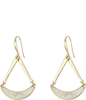 Robert Lee Morris - Horn Triangle Drop Earrings