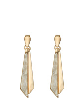 Robert Lee Morris - Horn Shaky Linear Earrings