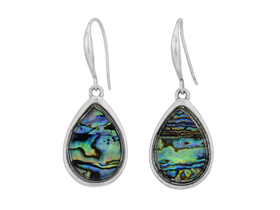 Robert Lee Morris Abalone Single Drop Earrings Abalone Earring