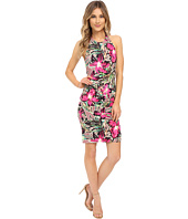 Nicole Miller - Batiki Printed Adel Cross Back Dress