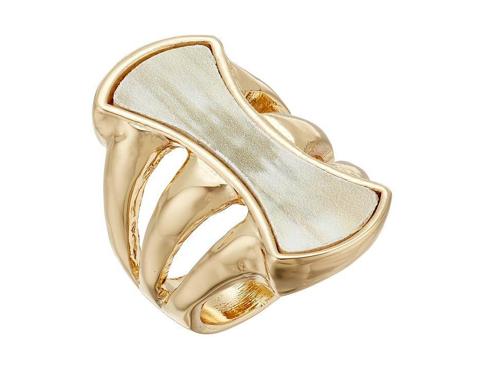 Robert Lee Morris - Horn Stone Cocktail Ring (Horn) Ring