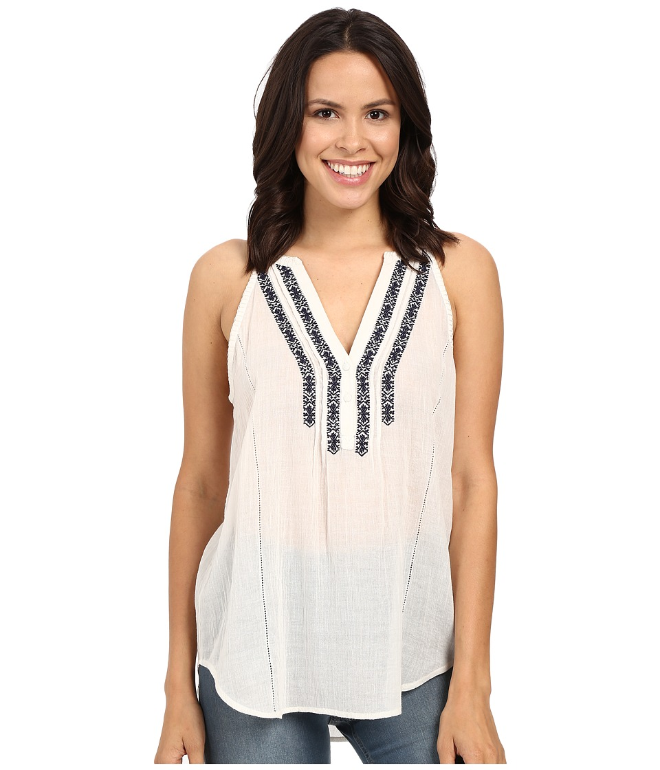 Paige Tyra Tank Top White Womens Blouse