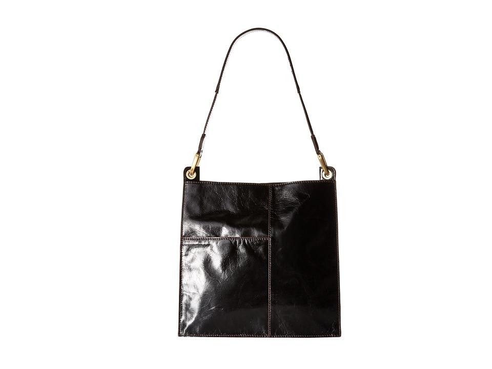 Hobo - Domina (Black) Handbags