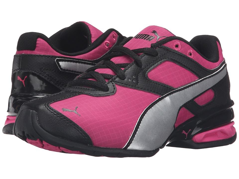Puma Kids - Tazon 6 Ripstop PS (Little Kid/Big Kid) (Fuchsia Purple/Puma Silver) Girls Shoes