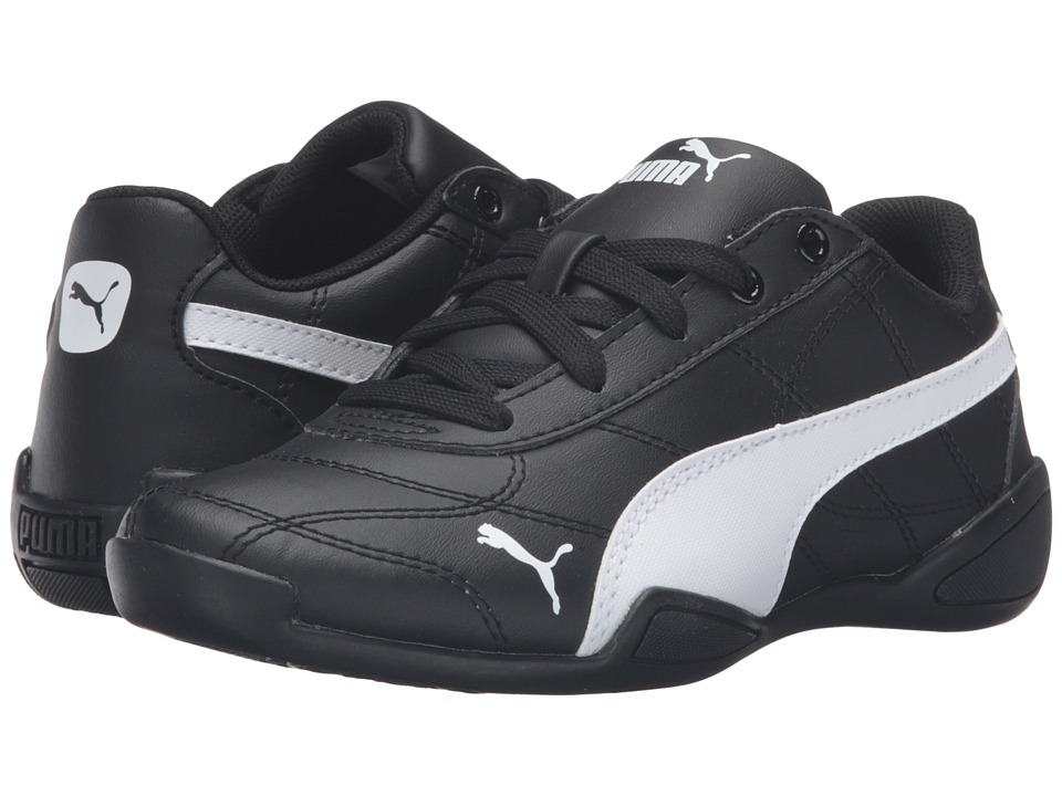 Puma Kids Tune Cat 3 PS (Little Kid/Big Kid) (Puma Black/Puma White) Boys Shoes