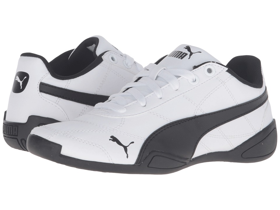 Puma Kids Tune Cat 3 Jr (Big Kid) (Puma White/Puma Black) Boys Shoes