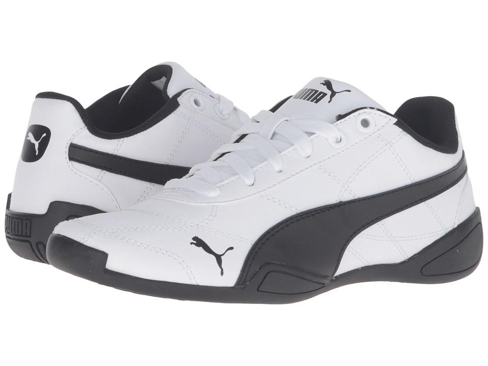 Puma Kids Tune Cat 3 Jr (Big Kid) (Puma White/Puma Black) Boys Shoes