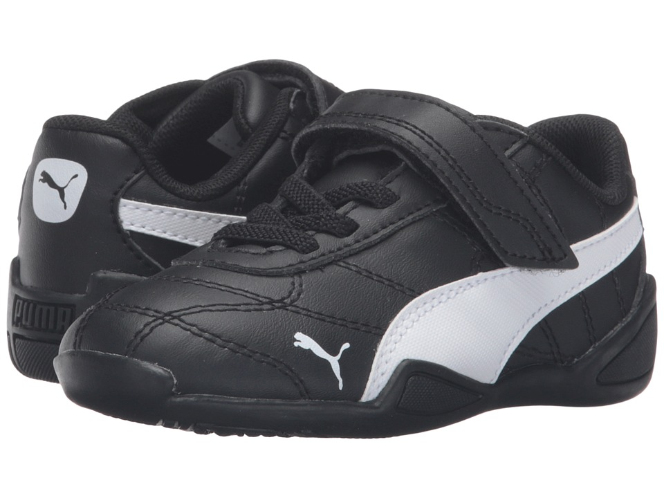 Puma Kids Tune Cat 3 V Inf (Toddler) (Puma Black/Puma White) Boys Shoes