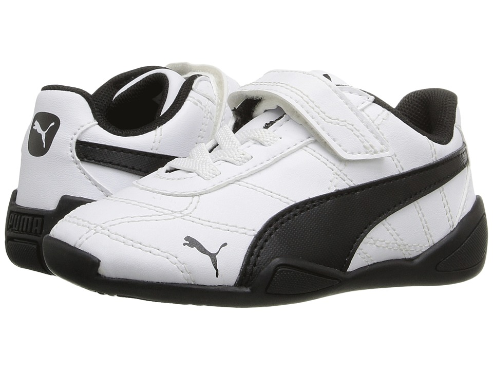 Puma Kids Tune Cat 3 V Inf (Toddler) (Puma White/Puma Black) Boys Shoes