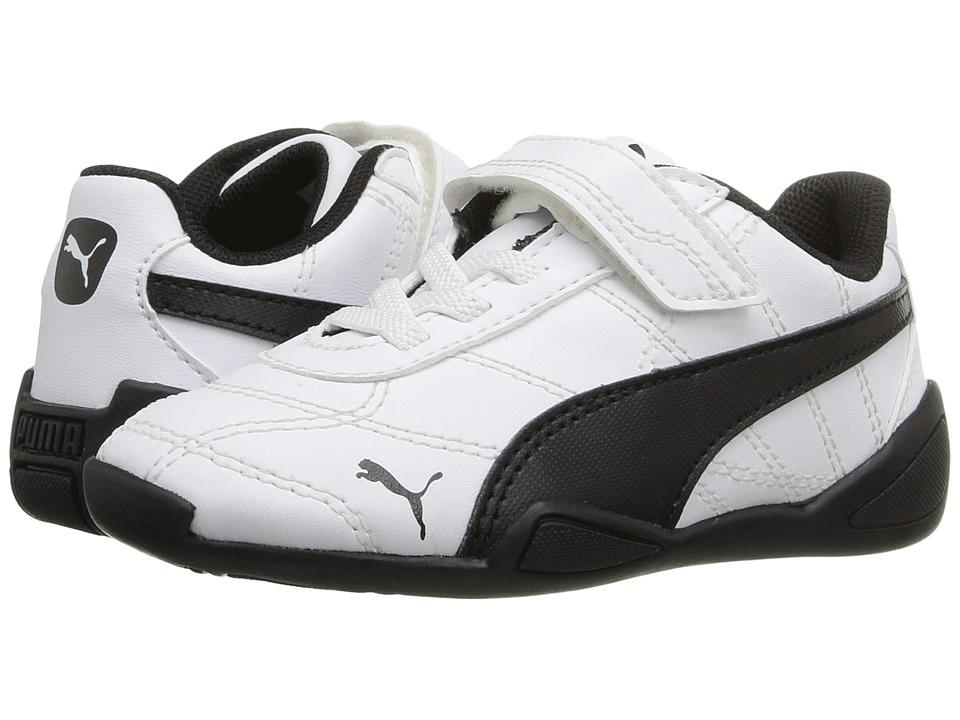 Puma Kids Tune Cat 3 V Inf (Toddler) (Puma White/Puma Black) Boys Shoes