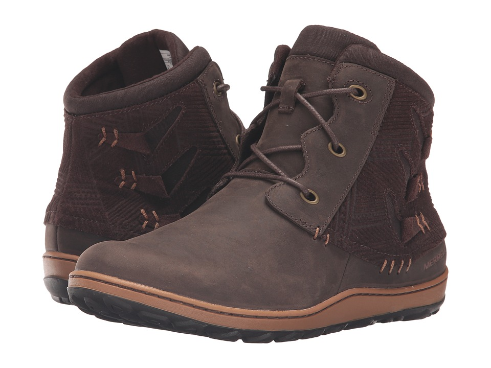 Merrell Ashland Vee Ankle (Seal Brown) Women