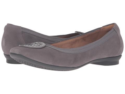 Clarks Candra Blush - Grey Suede
