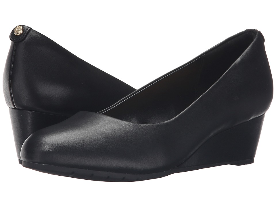 Clarks Vendra Bloom (Black Leather) Women's  Shoes