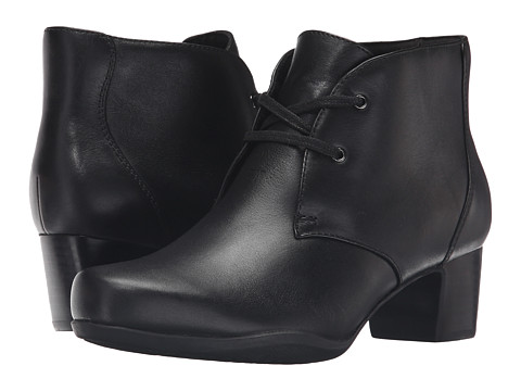 Clarks Rosalyn Lark - Black Leather