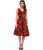 Unique Vintage - Fleur Swing Dress