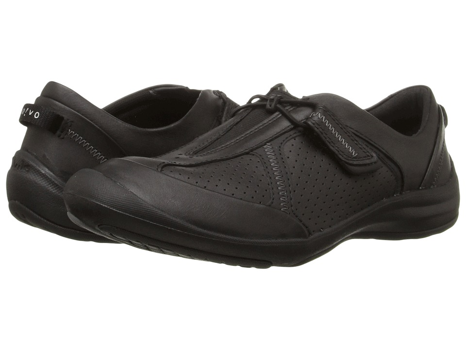 Clarks Asney Slip-On (Black Leather) Women