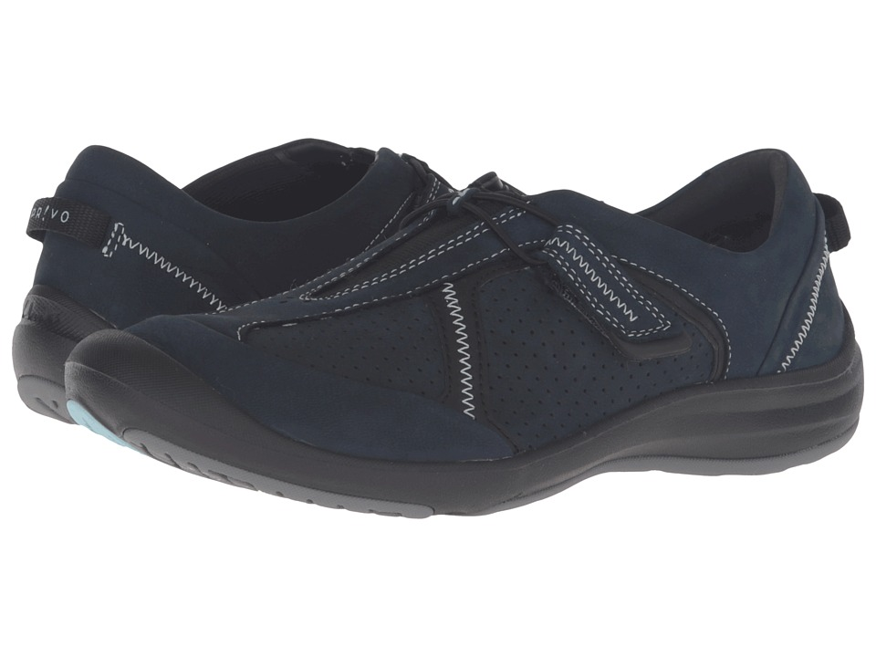 Clarks Asney Slip-On (Navy Nubuck) Women