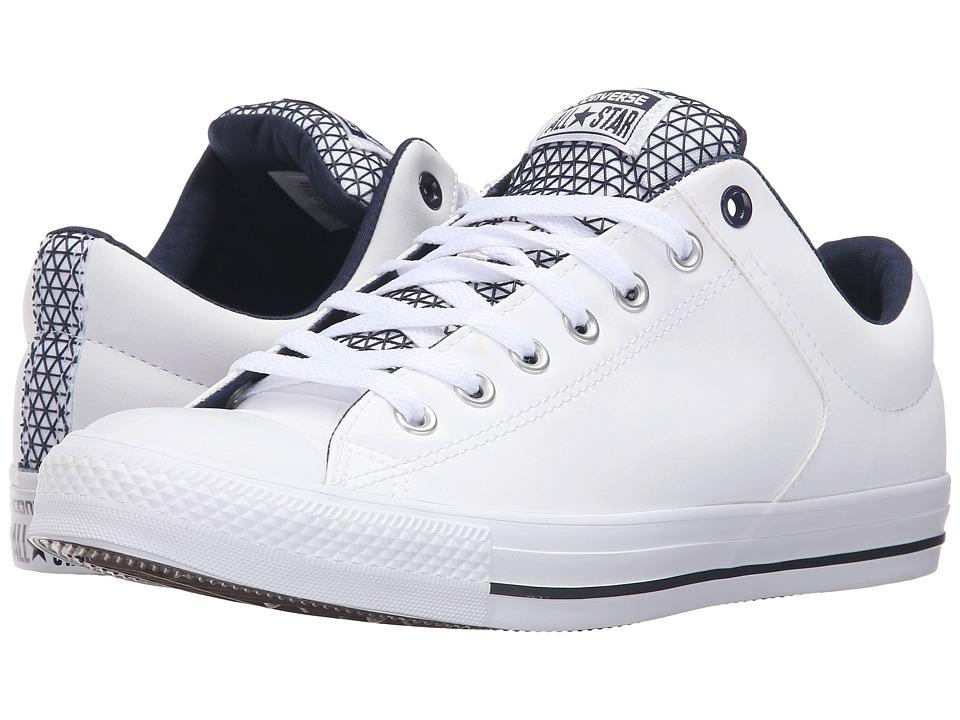 Converse - Chuck Taylor All Star High Street Ox (White/Obsidian/Black) Men