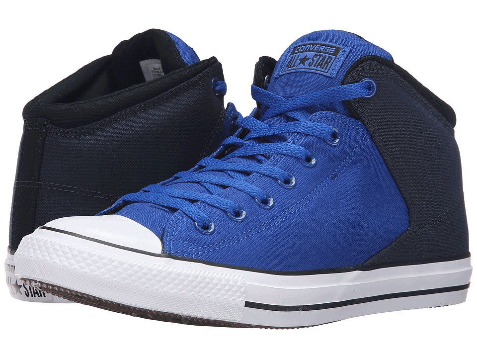 Converse - Chuck Taylor All Star High Street Neoprene Mid (Blue/Obsidian/White) Men