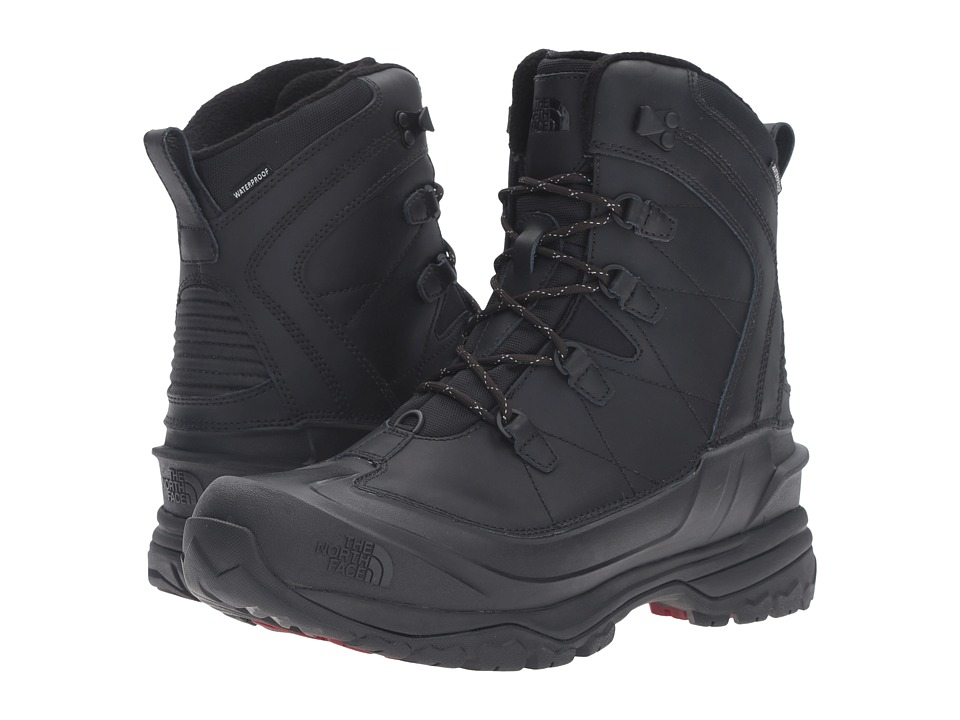 North Face Chilkat EVO (TNF Black/Rudy Red) Men's Lace-up...