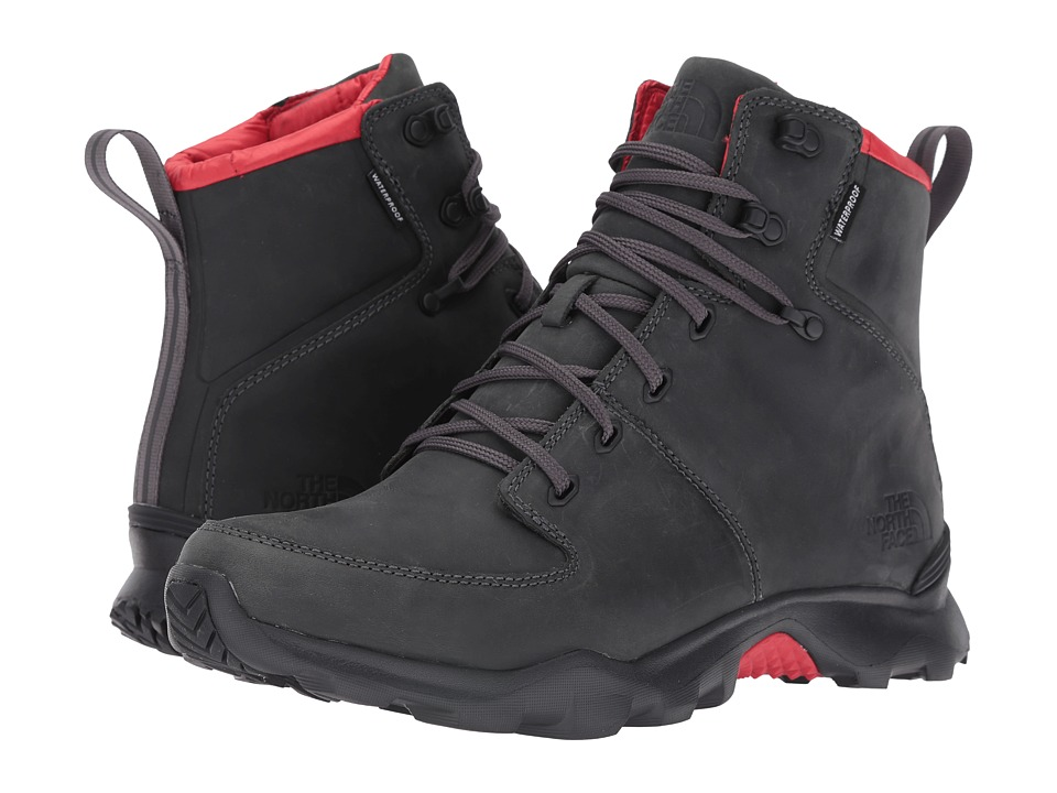 The North Face ThermoBall Versa (Dark Shadow Grey/TNF Red) Men