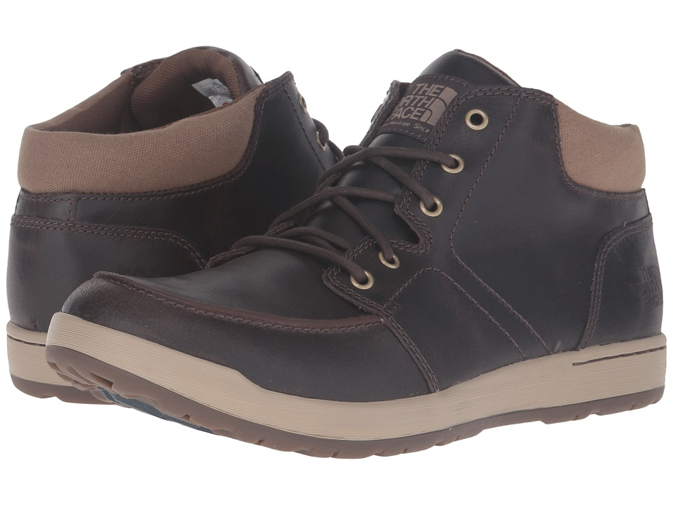 The North Face Ballard EVO Chukka FG (Demitasse Brown/Shady Blue) Men