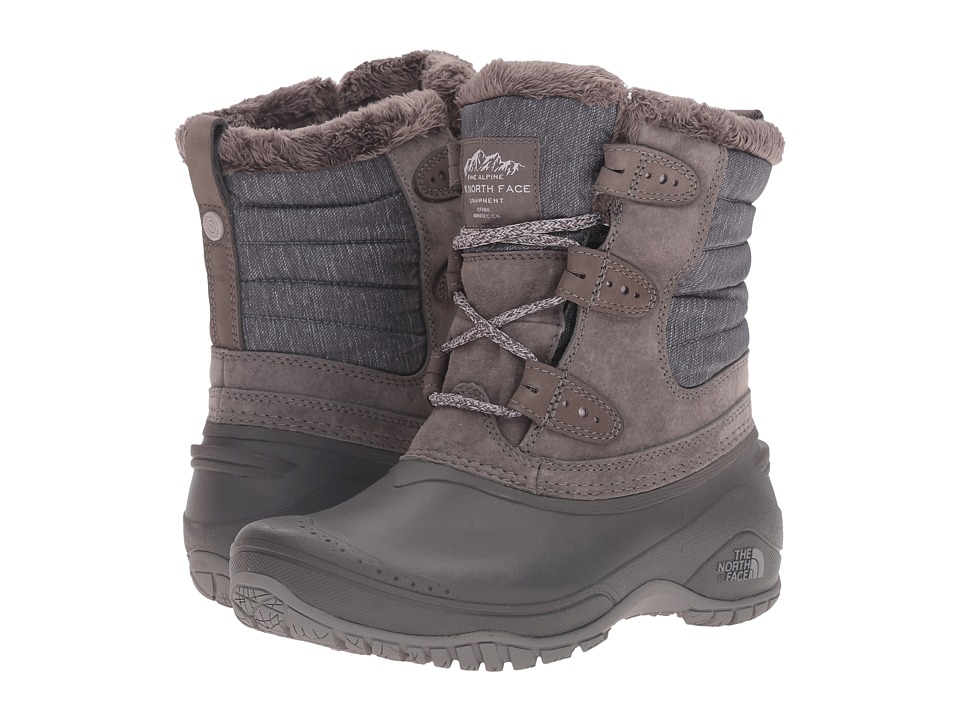 The North Face Shellista II Shorty (Dark Gull Grey/Cloud Grey) Women