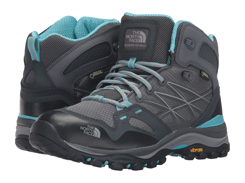 The North Face - Hedgehog Fastpack Mid GTX (Zinc Grey/Fortuna Blue) Women