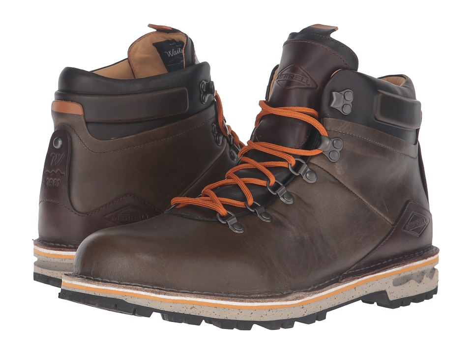 Merrell - Sugarbush Waterproof (Dusty Olive) Men