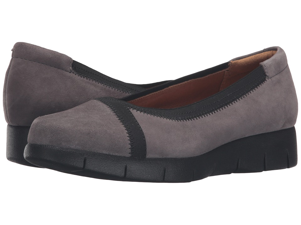 Clarks - Daelyn Hill (Grey Suede) Womens  Shoes