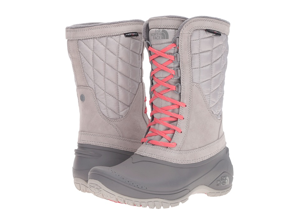 The North Face ThermoBall Utility Mid (Dove Grey/Calypso Coral) Women