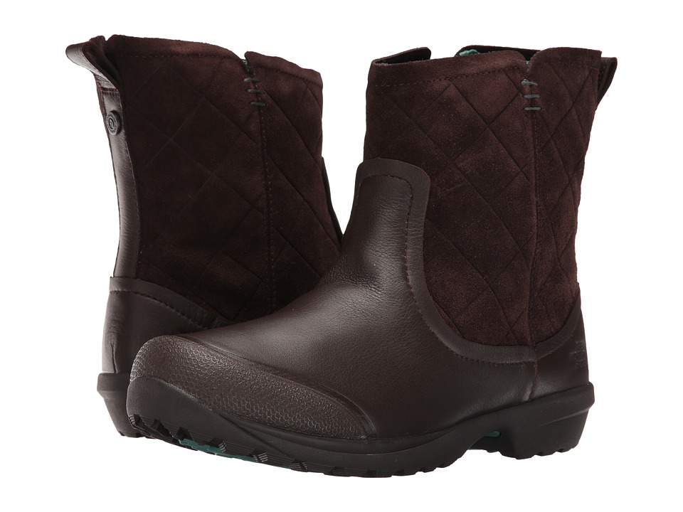 The North Face - ThermoBall Utility Metro Shorty (Coffee Bean Brown/Deep Sea) Women