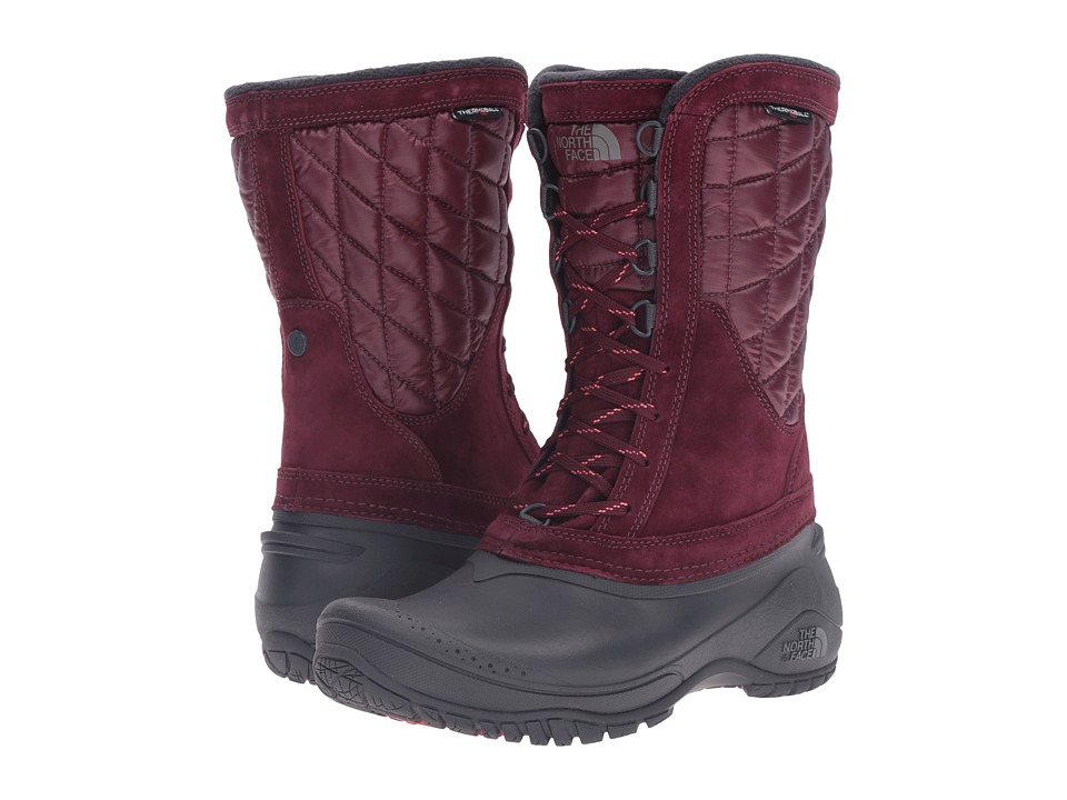 The North Face - ThermoBall Utility Mid (Deep Garnet Red/Calypso Coral) Women