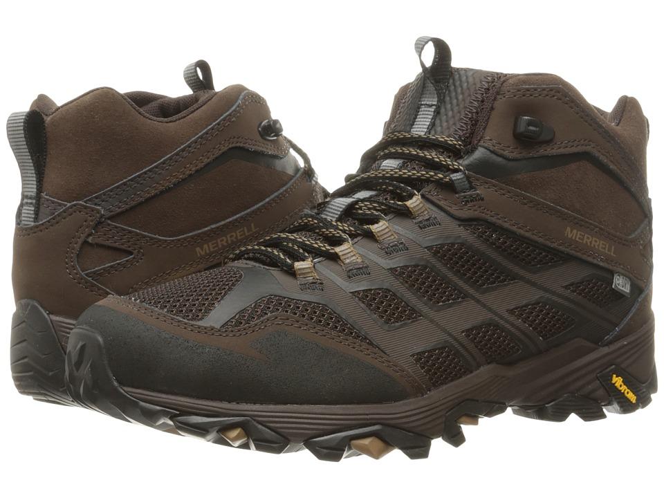 Merrell Moab FST Mid Waterproof (Brown) Men