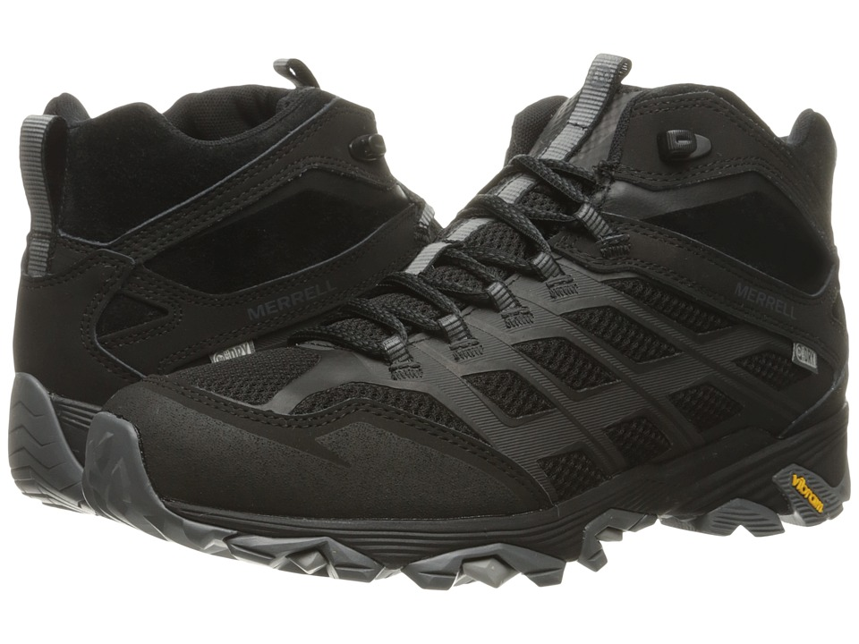 Merrell Moab FST Mid Waterproof (Noire) Men